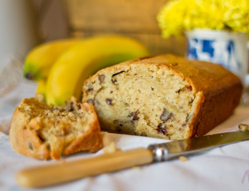 Banana Loaf with Guinness
