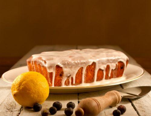 Lemon Curd & Blueberry Loaf