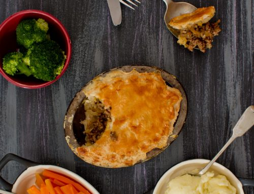 Minced Beef Pie (the original meat pie)